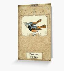 Love Birds V Greeting Card