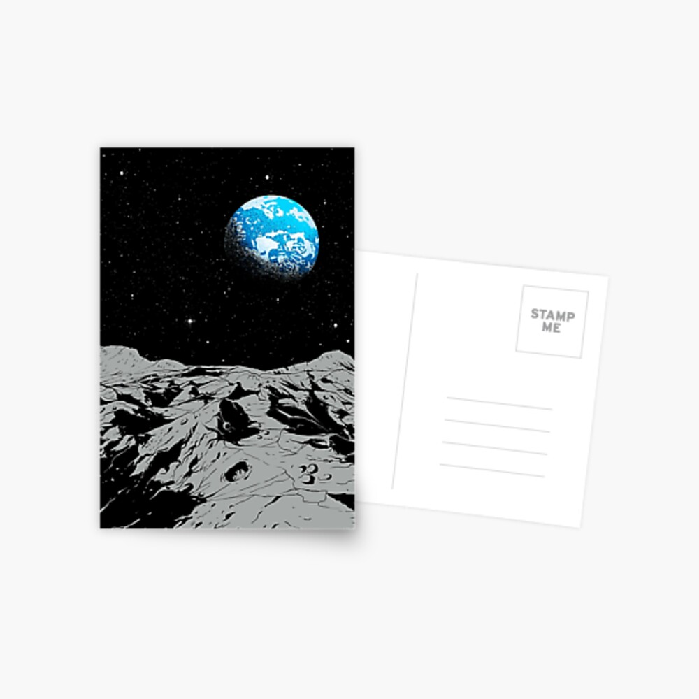 From the Moon Postcard