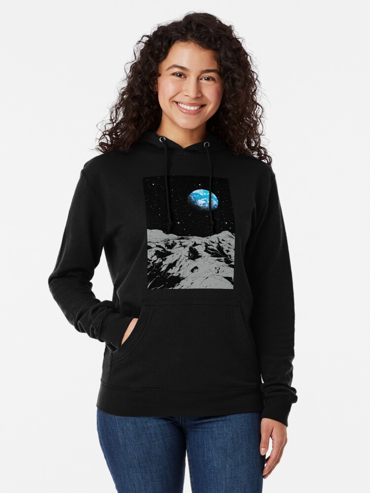 Alternate view of From the Moon Lightweight Hoodie