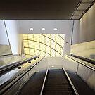 Atlanta Escalator  by Allison  Flores
