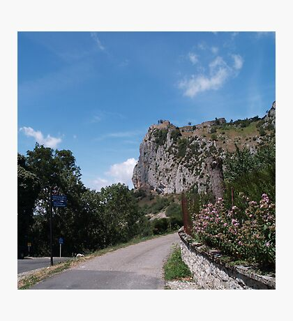 Chateau de Roquifixade Photographic Print