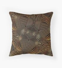 Precious Metals Throw Pillow