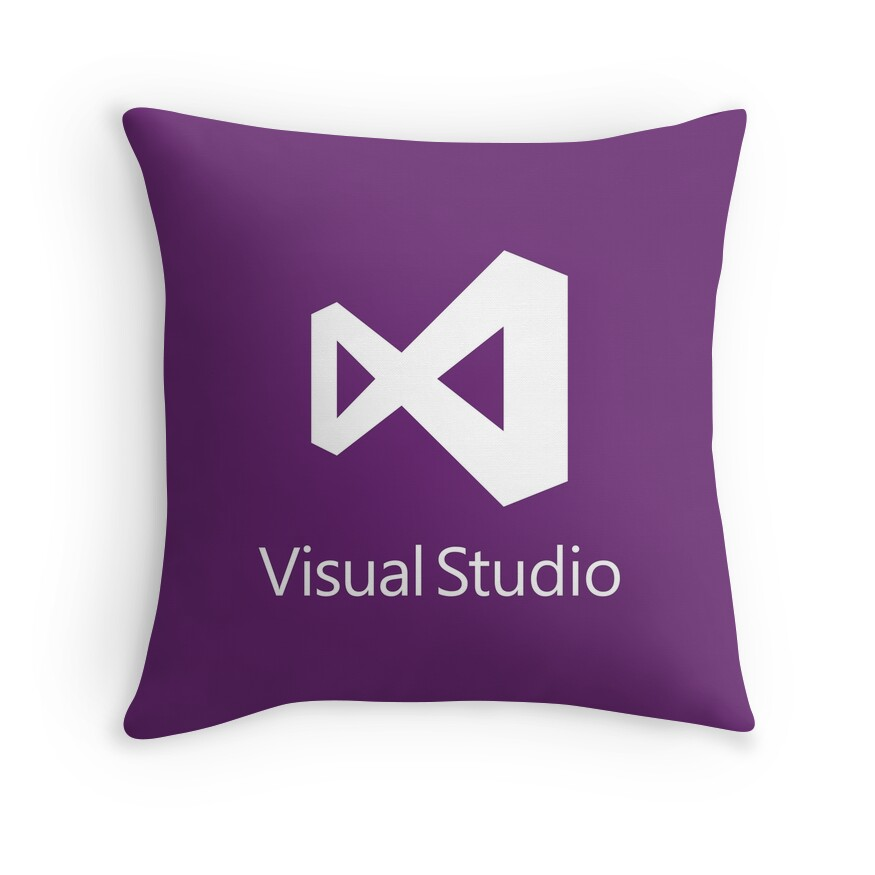 Quot Visual Studio 2012 Logo Quot Throw Pillows By Theuntitled