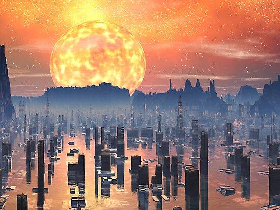 Global Warming ? by Angela Harburn