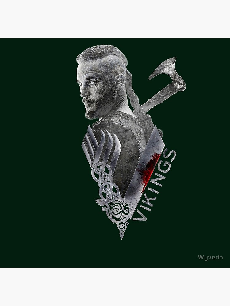 Vikings - Ragnar Lothbrok  by Wyverin