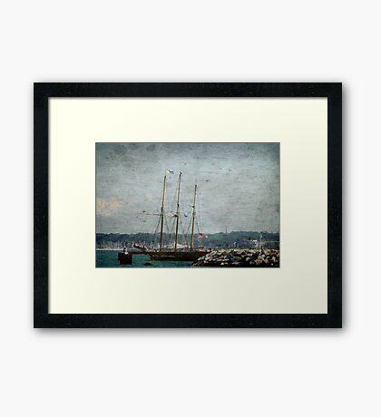Pirates Ship © Framed Print