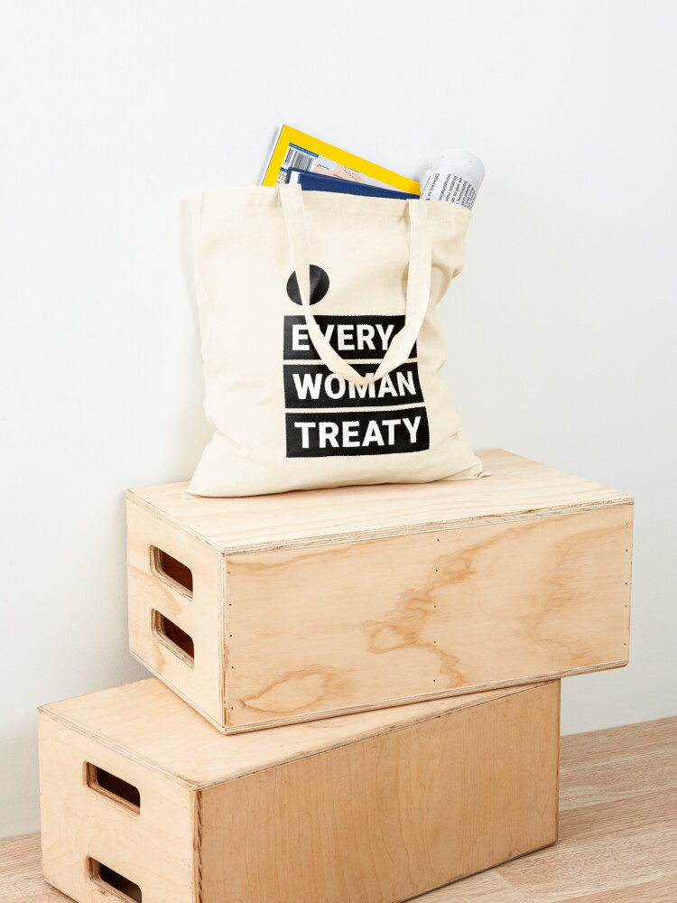 Alternate view of English Every Woman Treaty Tote Bag