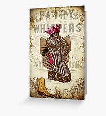 Fairy Godmother's Boudoir Greeting Card
