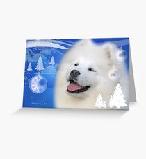 CC21 - Samoyed Pup Greeting Card