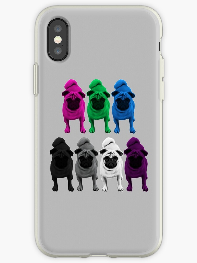 Poly Ace Pride Pugs by shaneisadragon