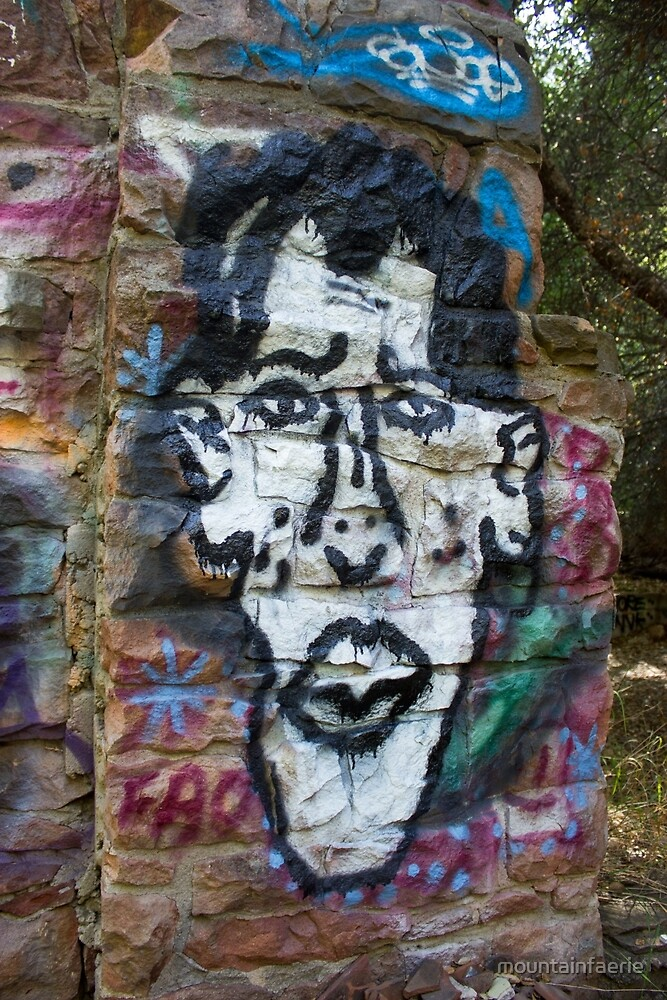 Obama Graffiti by mountainfaerie