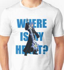 "Saix ""Where Is My Heart?"" T-Shirt"