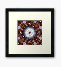 Brilliance - The Eye Of Comtos Framed Print