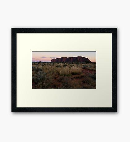 Sacred Ground Framed Print