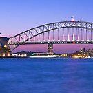 The Late Ferry - Sydney by Mathew Courtney