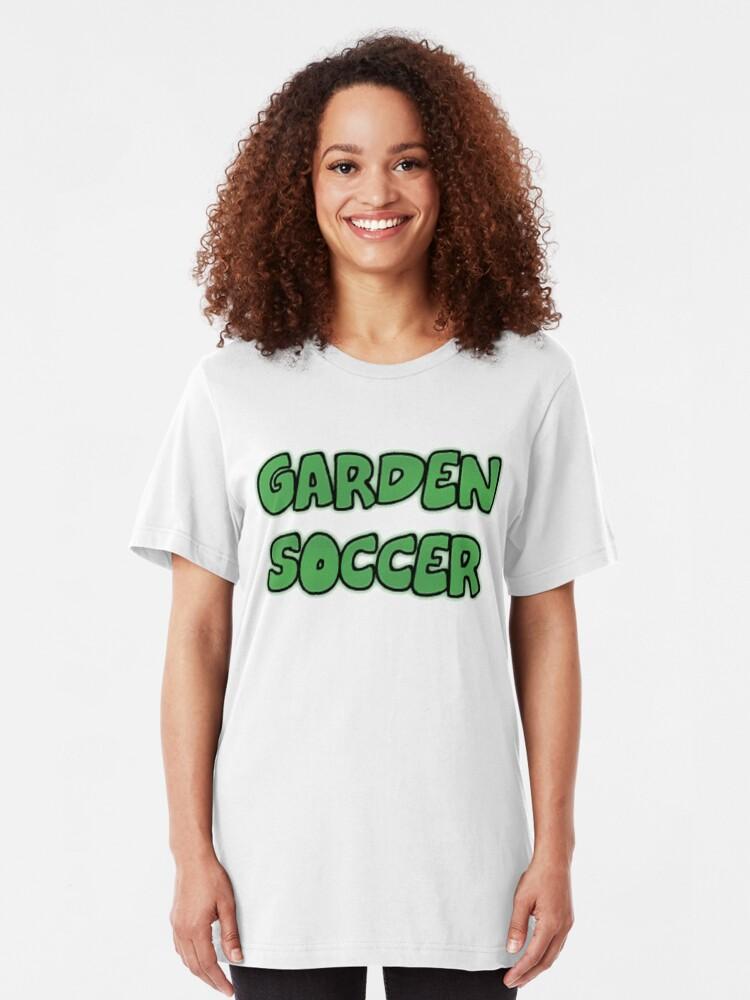 Alternate view of Garden Soccer Slim Fit T-Shirt