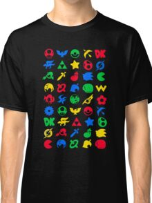 Smash Logo Print Poster Classic T-Shirt