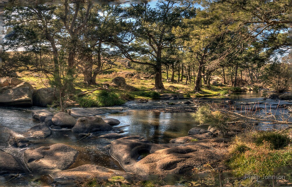 A River Runs Through It #2 - The Fly , Near Oberon, NSW Australia - The HDR Experience by Philip Johnson