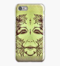 Green man iPhone Case/Skin