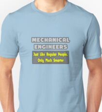 Funny Mechanical Engineer Gifts T-Shirt