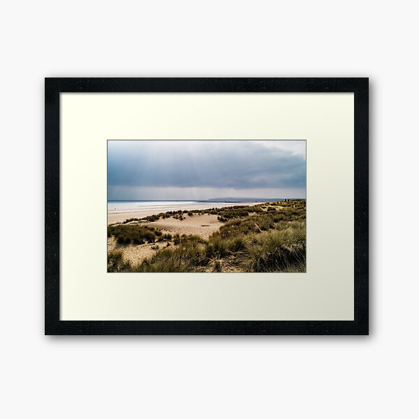 Camber Sands Framed Art Print