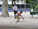 Pétanque Players at Champs de Mars by Imagery
