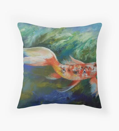 Ruby and Sapphire Throw Pillow