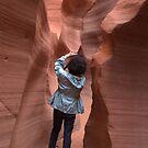 Narrow Lower canyon by loiteke