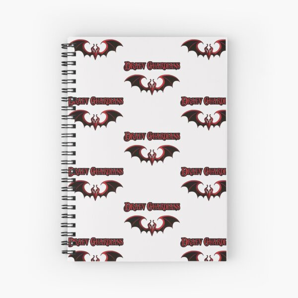 Draev Guardians wing symbol Spiral Notebook