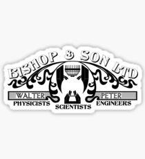 Bishop & Son Ltd Sticker