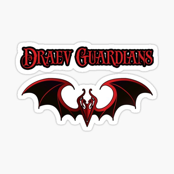 Draev Guardians wing symbol Sticker