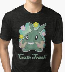 The Most Adorable Garbage Tri-blend T-Shirt
