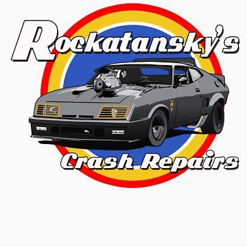 Rockatansky's Crash Repairs by limey57