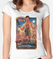 Big trouble in Little China Women's Fitted Scoop T-Shirt