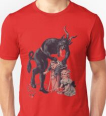 Merry Christmas from Krampus! Unisex T-Shirt