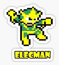 Elecman Sticker
