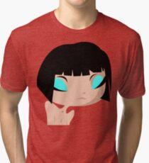 sad Layla Tri-blend T-Shirt