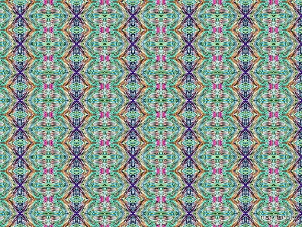 geometric pattern 1b by mondimeeja