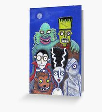 Halloween Reunion Greeting Card