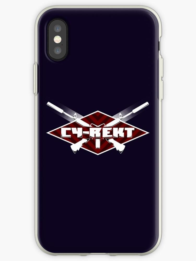 Team Cy-Rekt Logo (Red) by TeamCyRekt