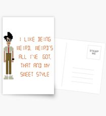 The IT Crowd – I Like Being Weird Postcards