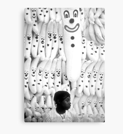 Smiling Faces Metal Print