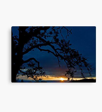 Ankeny Hill Sunset Canvas Print