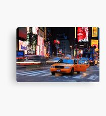 Taxi Please! Canvas Print