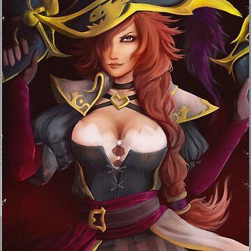 Captain Miss Fortune by uyuni