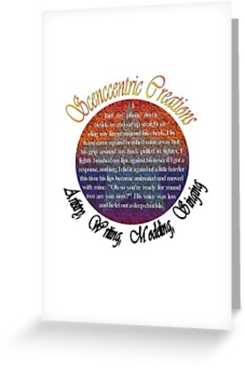 Scenccentric creations logo by Scenccentric