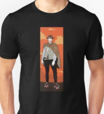 The man with no name but with some skates (with background) T-Shirt