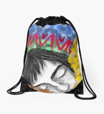 Sleepy head. Drawstring Bag
