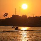 July Sunset - Long Beach by Aurora Vaz