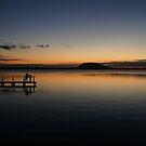 Lake Tooliorook on sunset by trishringe